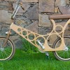 hoopy wooden bike