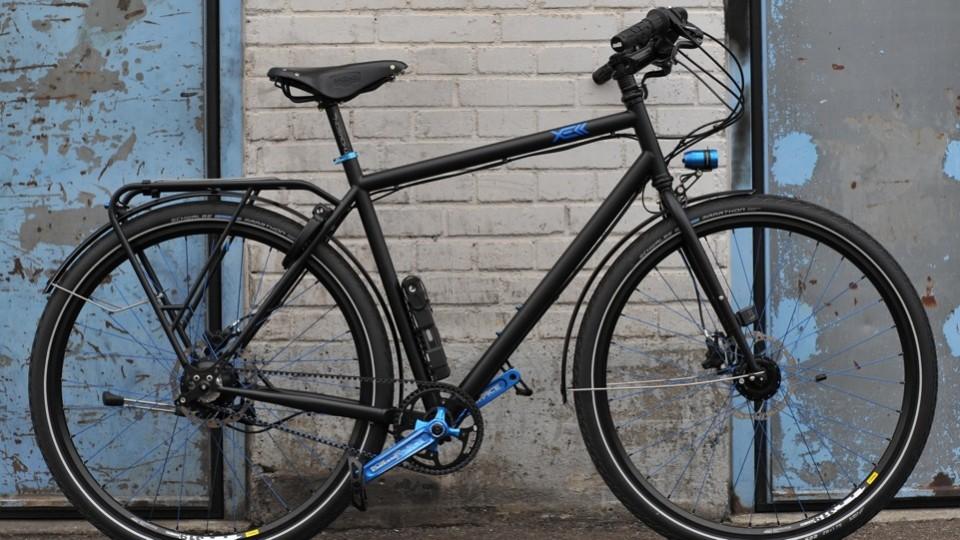 blue beat bike