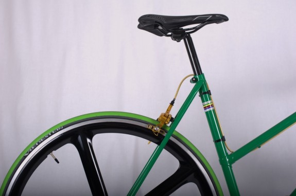 XECC fixie 'green mamba'