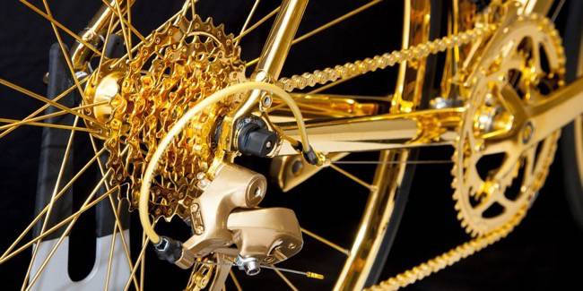 goldgenie golden racing bike